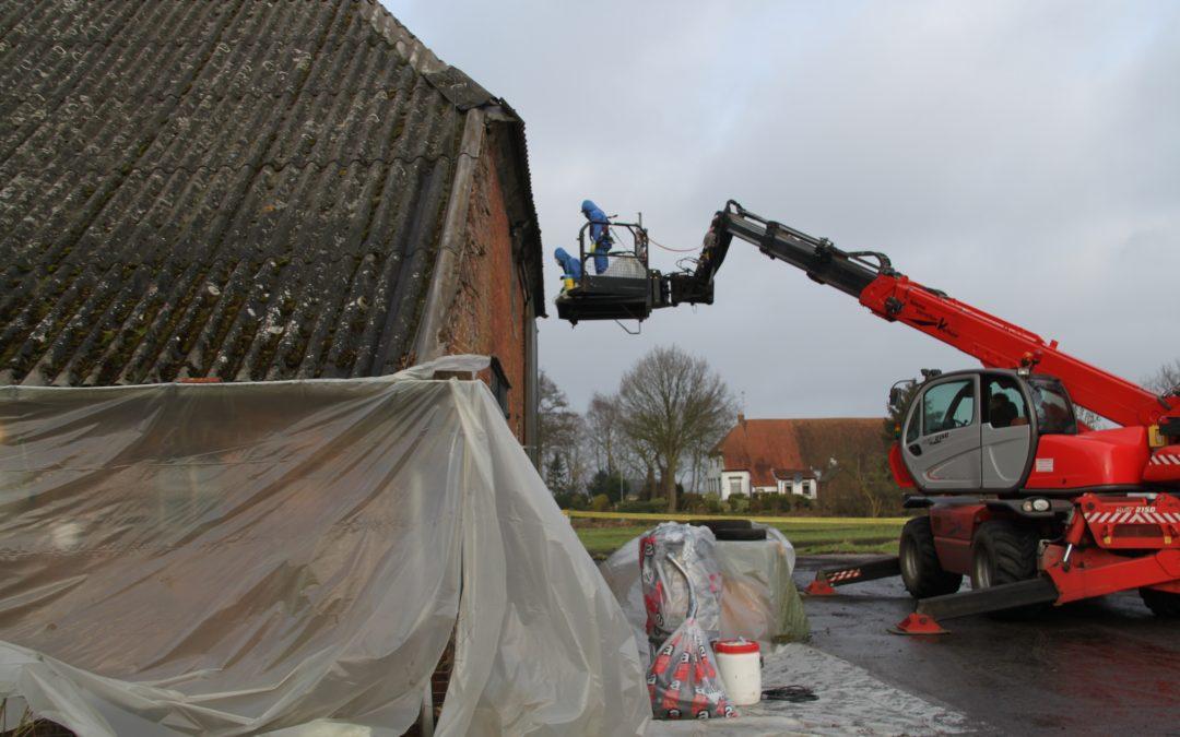 LTO Noord Drenthe start werkzaamheden collectieve asbestsanering
